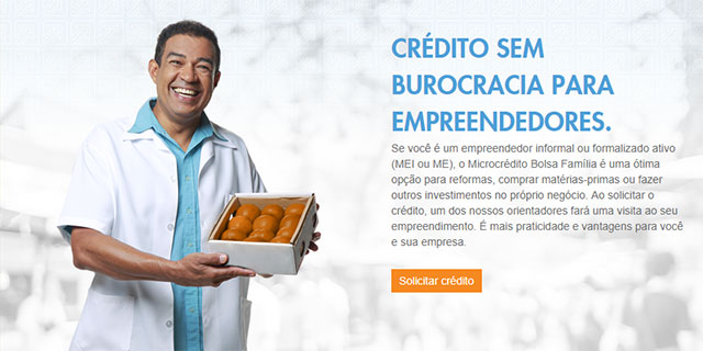 Simulador de Microcrédito Bolsa Família
